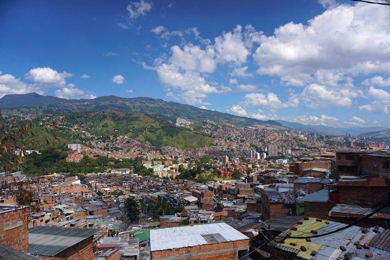 Vista de Comuna 13, Medellín