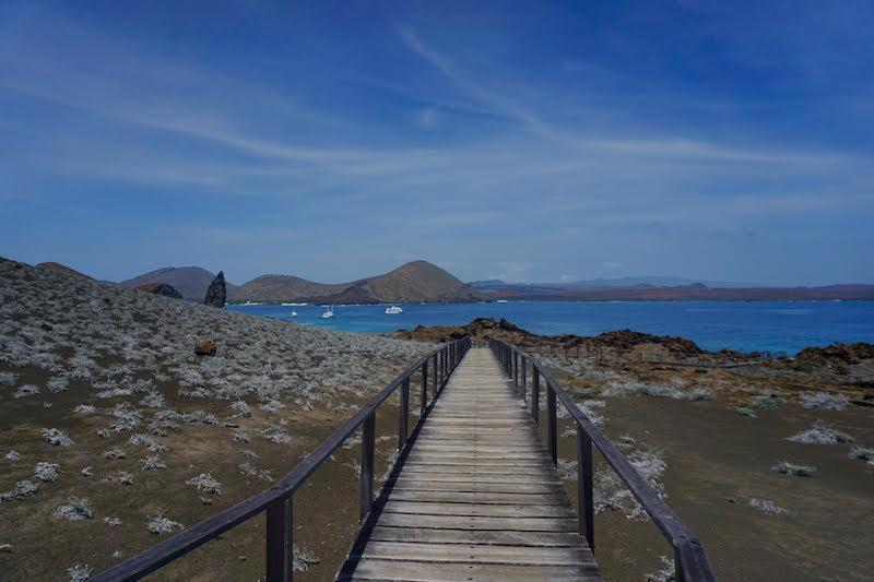 Bartolomé esconde de los paisajes más bellos de las Galápagos