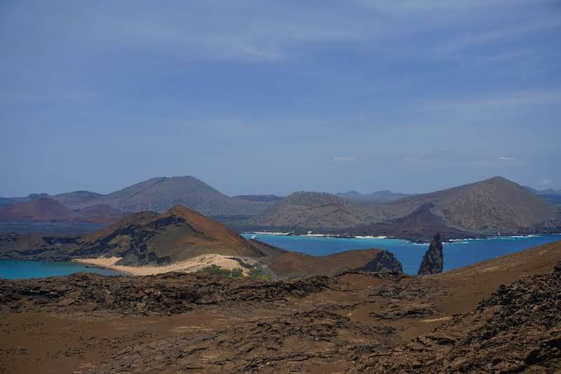 Isla Bartolomé, donde fuimos desde Santa Cruz