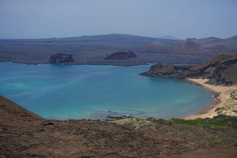 Playa de isla Bartolomé, Santa Cruz