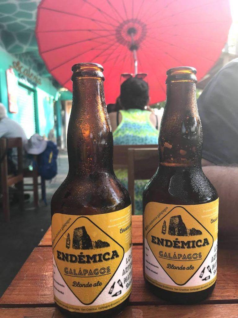 ¡A la rica cerveza Endémica!