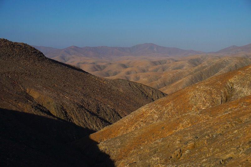 Las montañas majoreras, uno de los paisajes que verás desde el coche