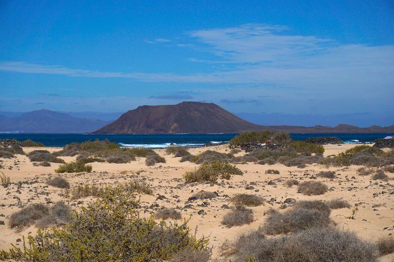 Isla de Lobos desde Corralejo