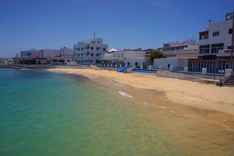 Corralejo's beach