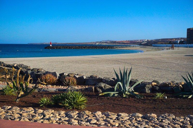 Puerto del Rosario´s beach
