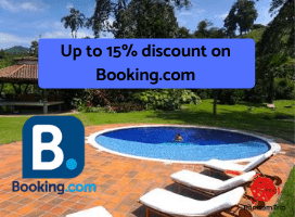 Up to 15% discount on Booking.com